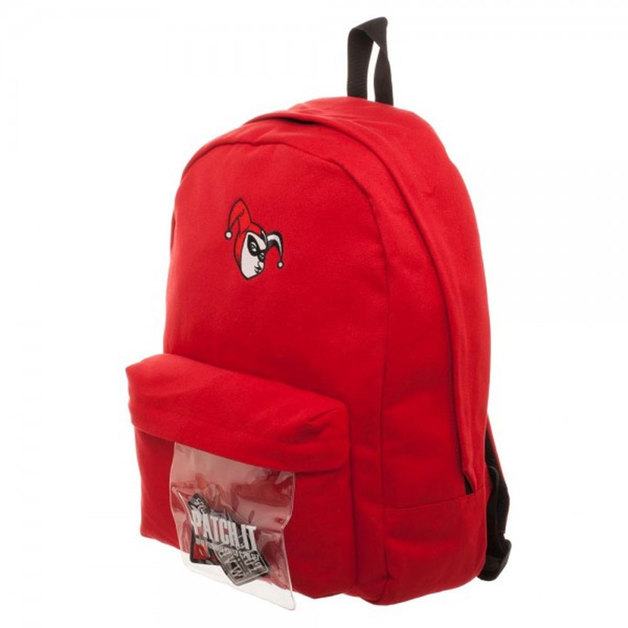 DC Comics Harley Quinn Patch It Backpack