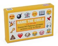 Name the Emoji - Flash Card Game