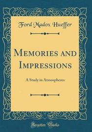 Memories and Impressions by Ford Madox Hueffer image