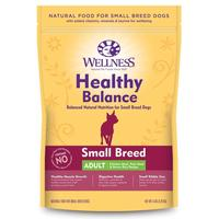 Wellness: Healthy Balance SMALL Breed Adult Chicken Meal, Pork Meal & Brown Rice Recipe 2.7KG