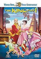 King And I, The (Animated) on DVD