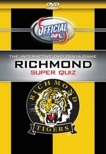 AFL - Richmond Super Quiz (DVD Game)  on DVD
