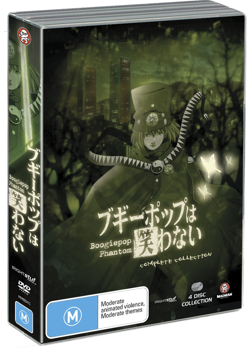 Boogiepop Phantom Collection (4 Disc Amaray Case) on DVD image