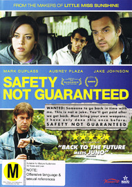 Safety Not Guaranteed on DVD