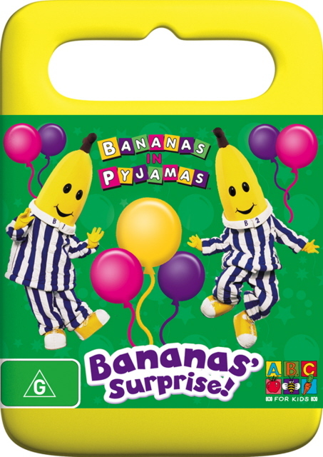 Bananas In Pyjamas - Bananas Surprise on DVD