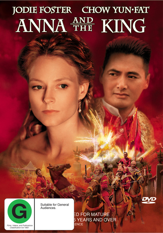 Anna and the King on DVD