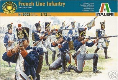 Italeri French Line Infantry (1815) 1:72 Model Kit