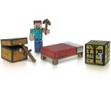 Minecraft Steve Survival Pack Action Figure Set - Series 1