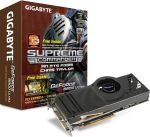 Gigabyte GVNX88U768H 8800ULTRA 768M PCIE image