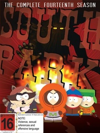 South Park: The Complete Fourteenth Season (3 Disc Set) on DVD
