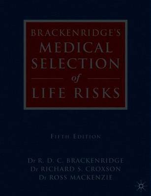 Brackenridge's Medical Selection of Life Risks image