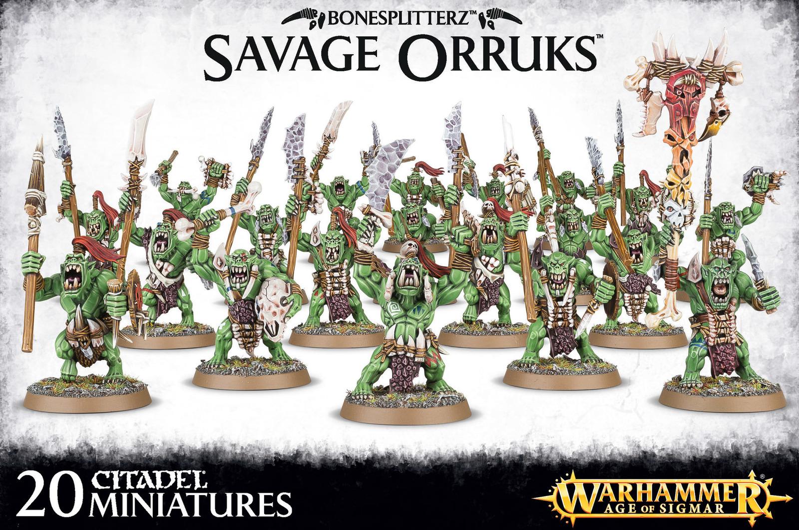 Bonesplitterz Savage Orruks image