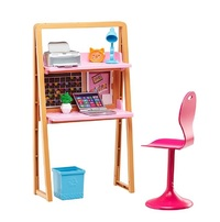 Barbie: Doll and Furniture Office Playset image