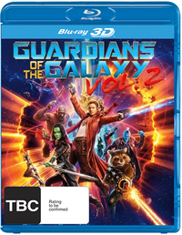 Guardians of the Galaxy Vol. 2 (3D Blu-ray) DVD