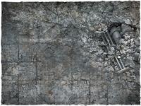 DeepCut Studio City Ruins PVC Mat (6x4) image