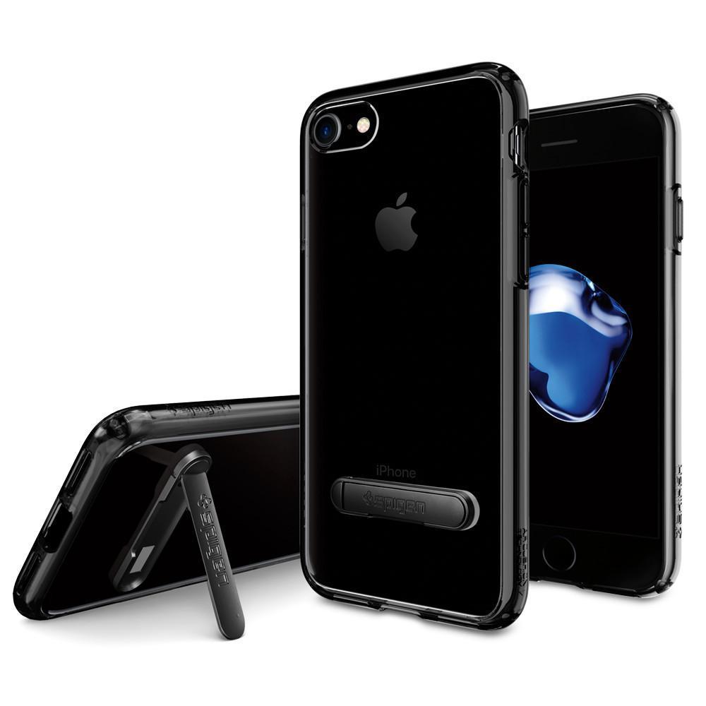 Spigen: iPhone 7 - Ultra Hybrid S Case (Jet Black) image