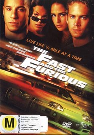 The Fast And The Furious on DVD image