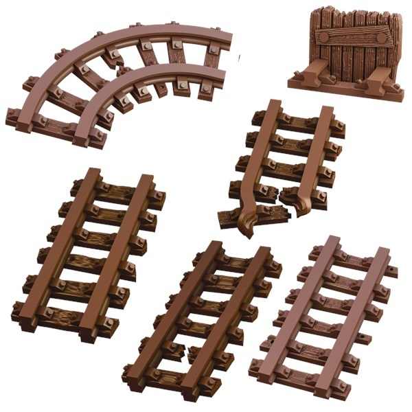 TerrainCrate: Mine Track