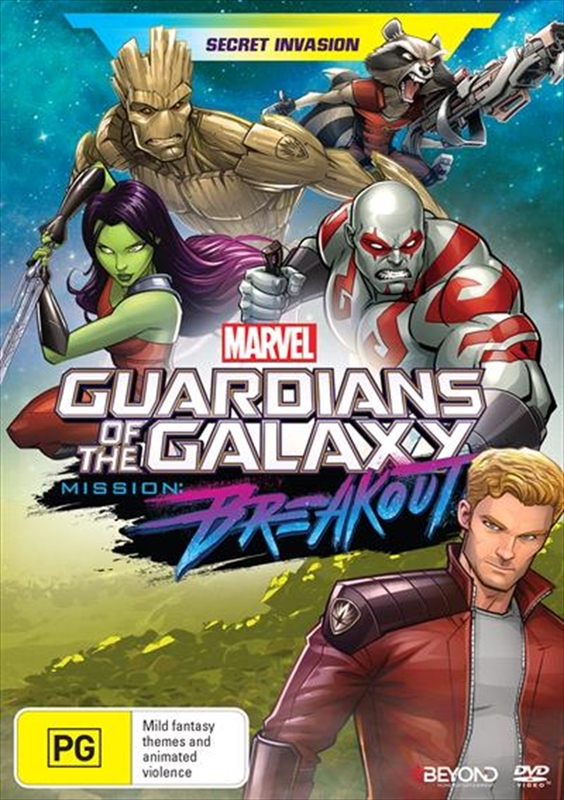 Guardians Of The Galaxy: Secret Invasion on DVD