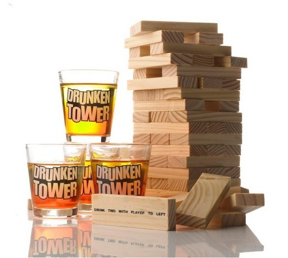 Tumble Tower Drinking Game