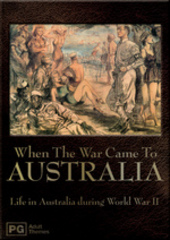 When The War Came To Australia on DVD