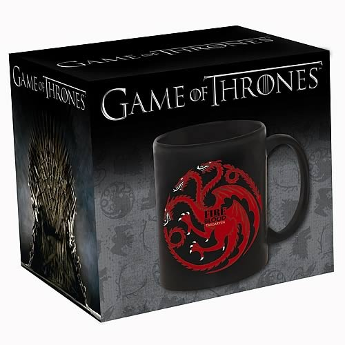 Game of Thrones Coffee Mug - Targaryen Fire & Blood image