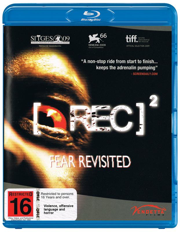 [REC] 2 on Blu-ray