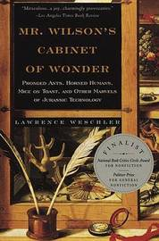 Mr Wilson's Cabinet of Wonder by Lawrence Weschler image