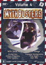 Mythbusters - Vol. 4 on DVD