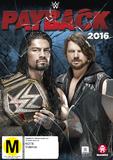 WWE - Payback 2016 DVD