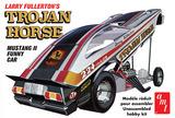 AMT: 1/251975 Mustang / Trojan Horse Funny Car (Larry Fullerton) - Model Kit