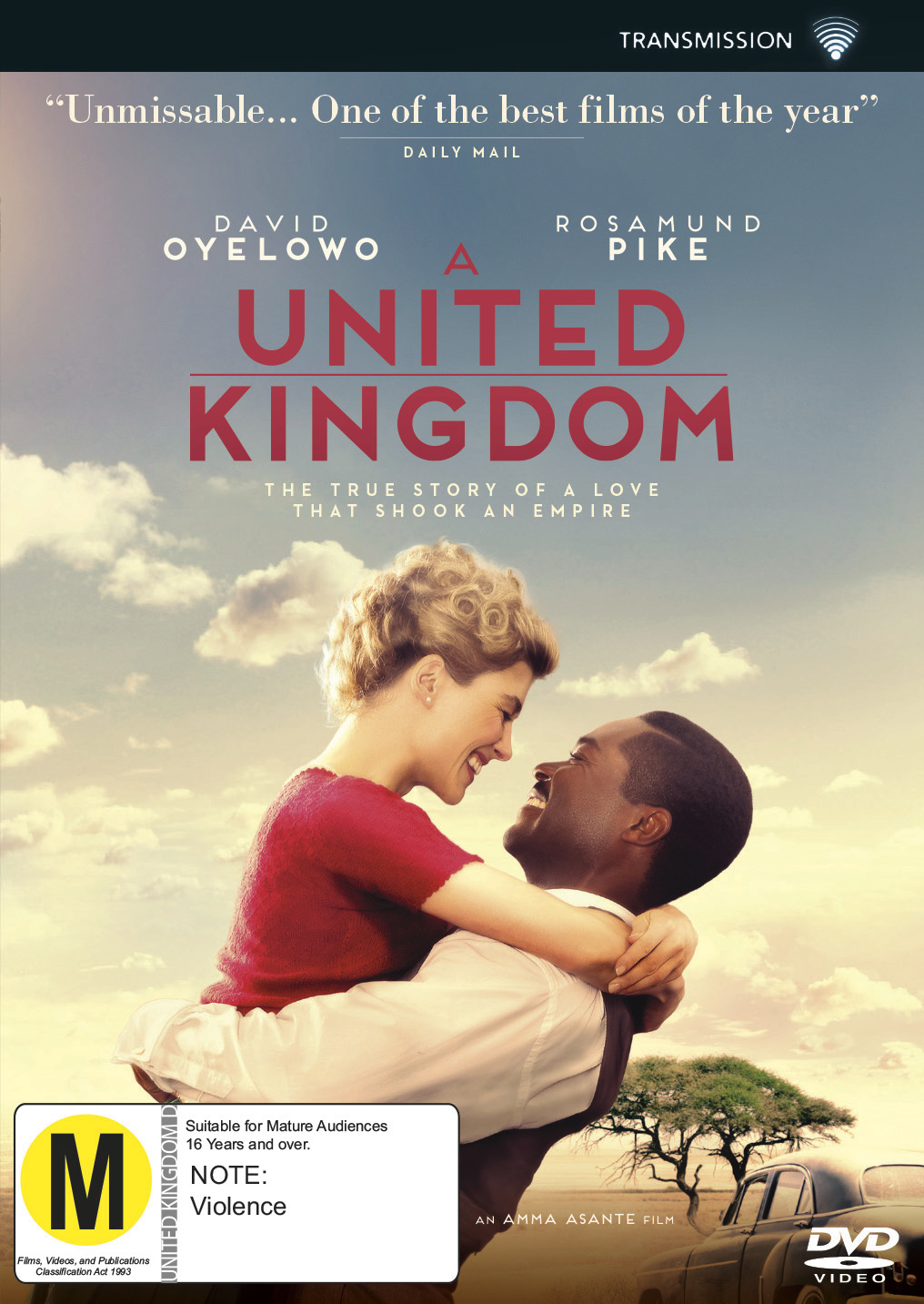 A United Kingdom on DVD image