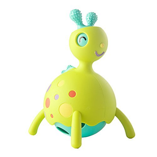 Fat Brain Toys: Rollobie - Baby Toy (Green)