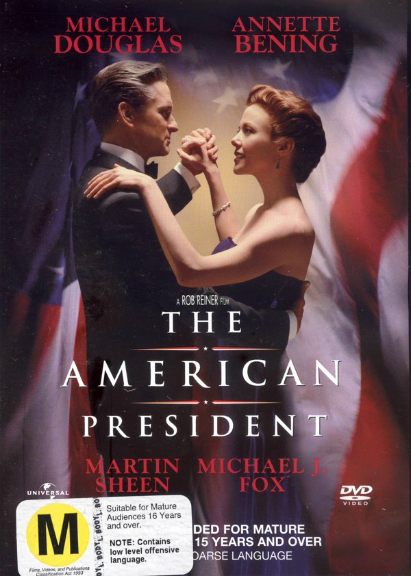 The American President on DVD image