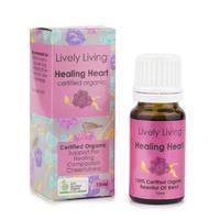 Organic Essential Oil Blend - Healing Heart (10ml)