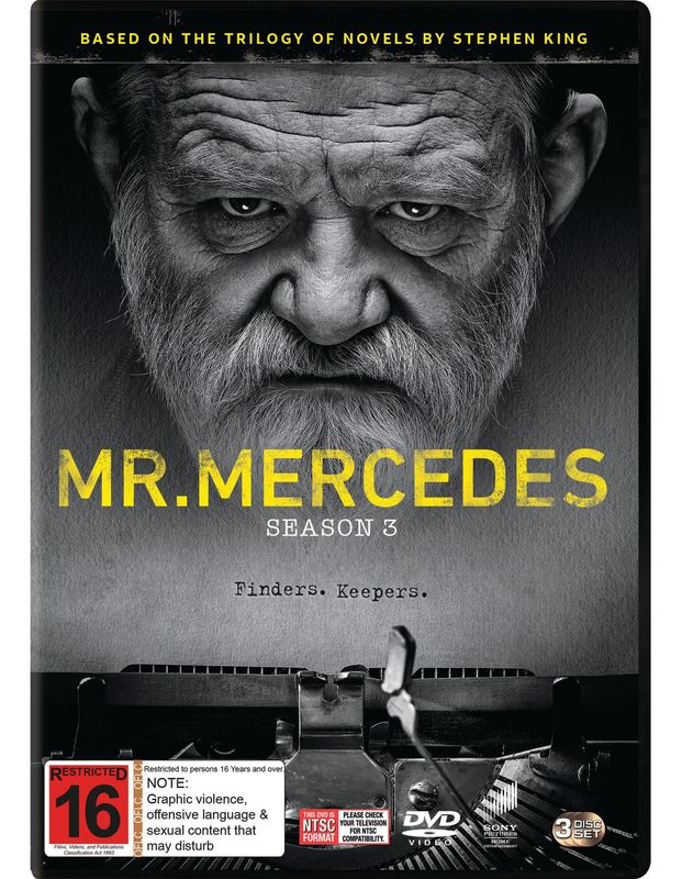 Mr. Mercedes - Season 3 on DVD