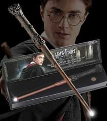 harry potter wand with illuminating tip instructions