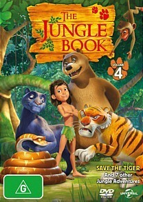 The Jungle Book - Volume 4 on DVD