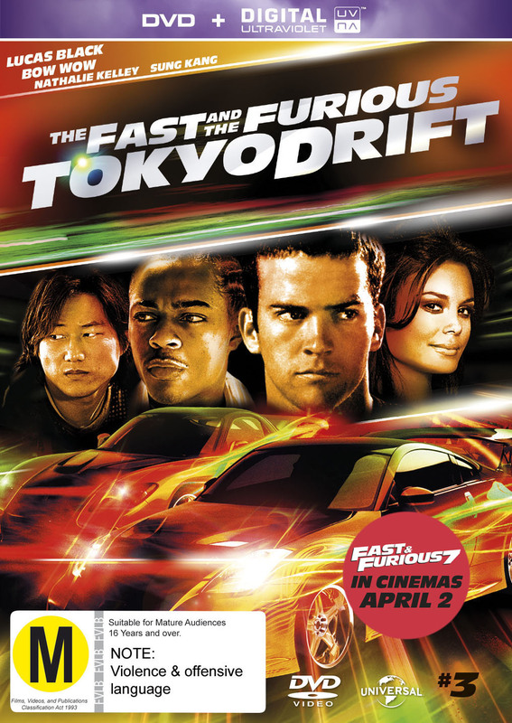 The Fast And The Furious: Tokyo Drift on DVD