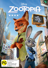 Zootopia on DVD