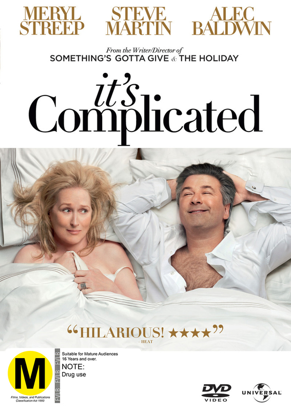 It's Complicated on DVD