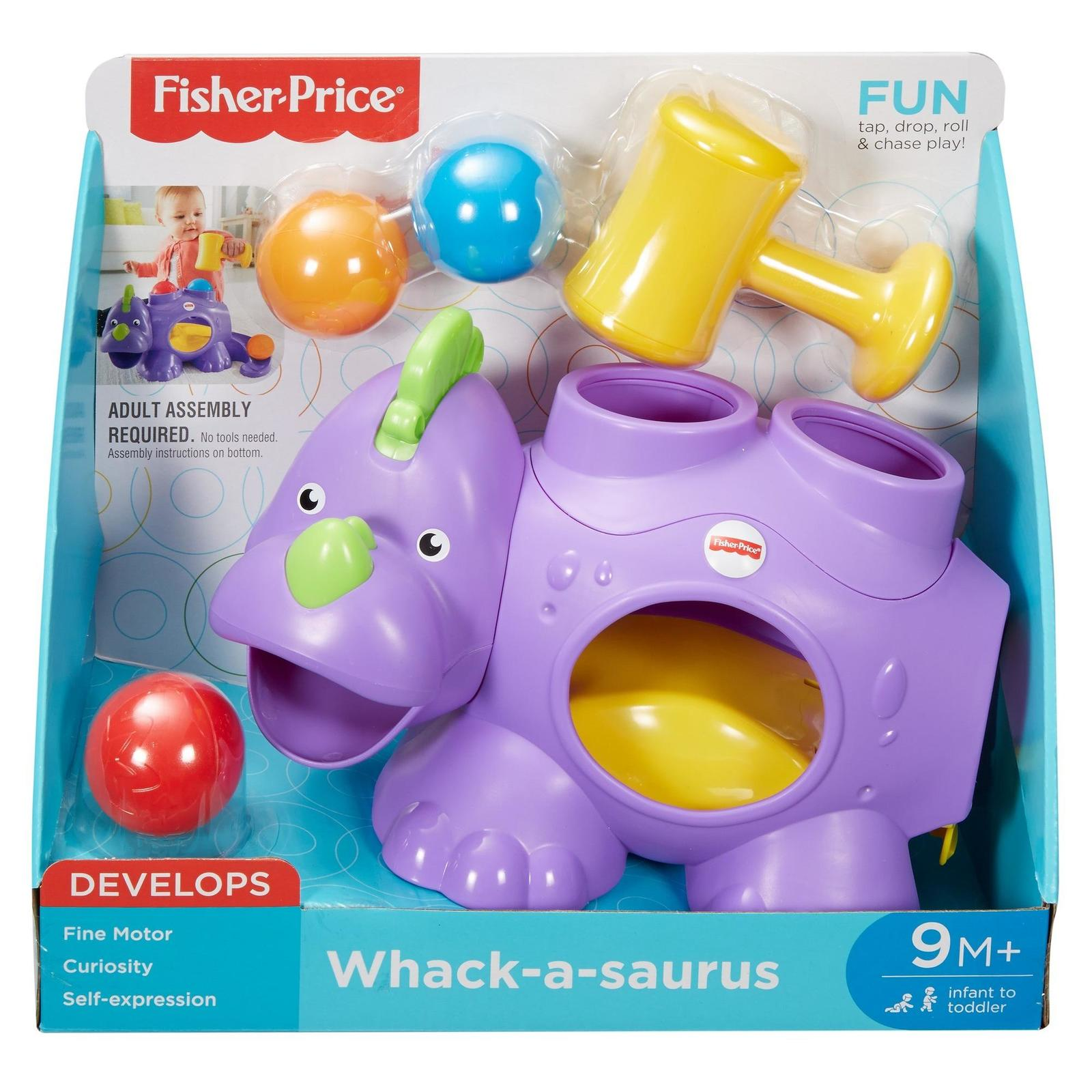 Buy whack a saurus playset at mighty ape nz fisher price whack a saurus playset image buycottarizona