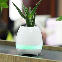 Bluetooth Musical Smart Pot - White