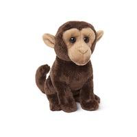 Wild: Milo Junior Monkey (Brown) 15Cm