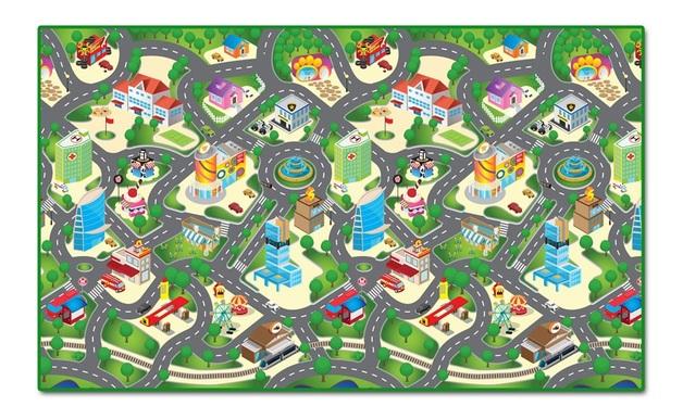 Rollmatz: Large Playmat - City Map
