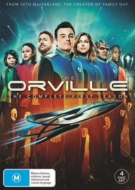 The Orville: Season 1 on DVD