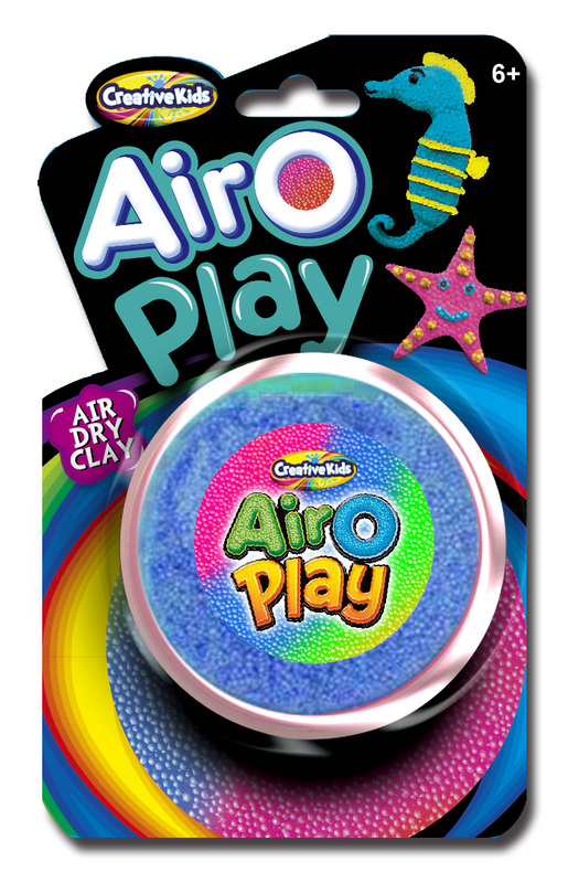 Creative Kids: Airo Play - Air Dry Clay (Assorted Colours)