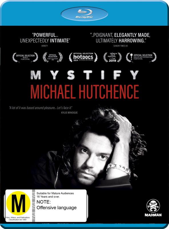 Mystify Michael Hutchence on Blu-ray