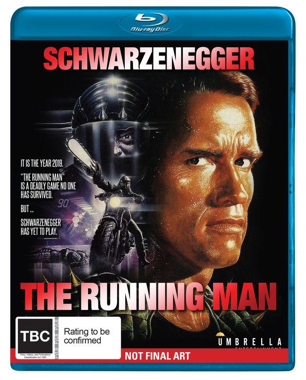 The Running Man on Blu-ray