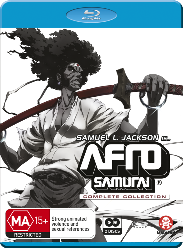 Afro Samurai Complete Collection on Blu-ray